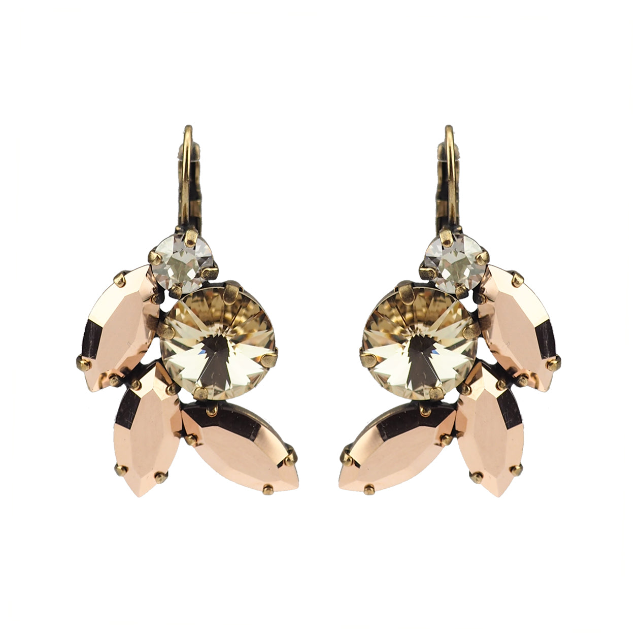 Devoted to You Earrings - Rose Gold