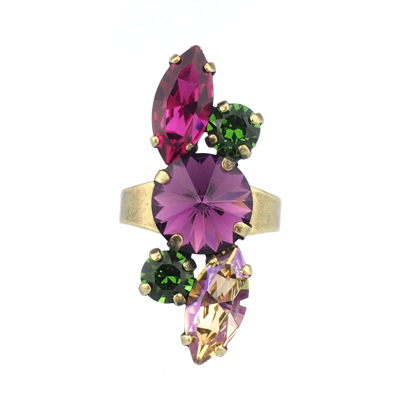 Devoted to You Ring - Amethyst