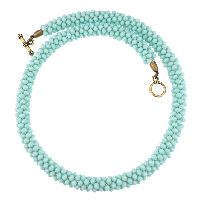 Exile Necklace - Pale Aqua