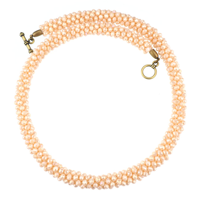 Exile Necklace - Pale Pink