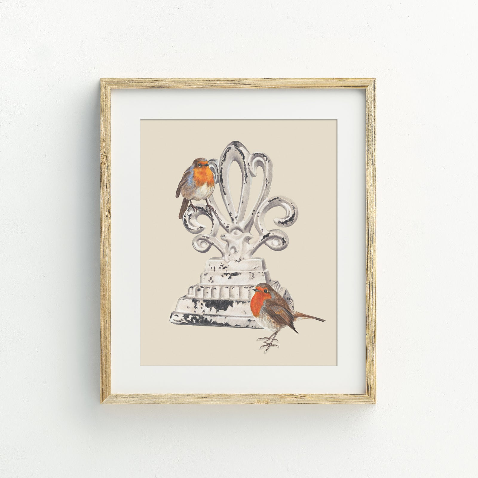 A4 Feed the Birds Print