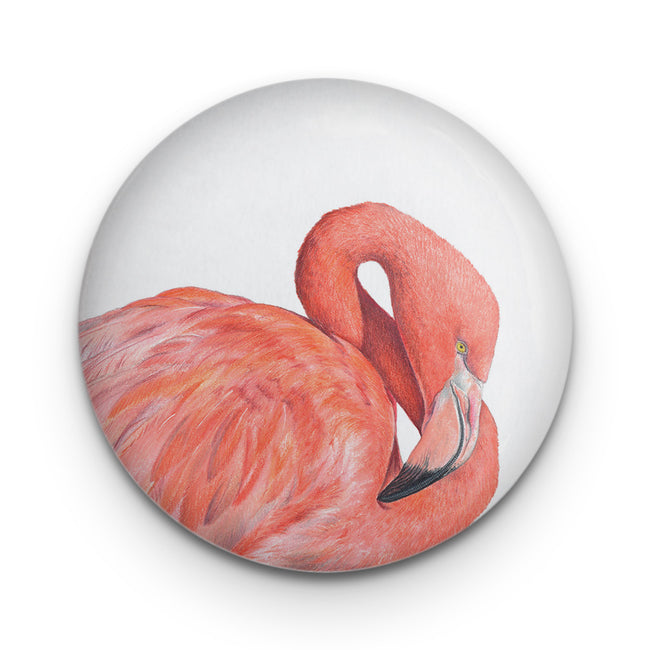 Great Flamingo Badge