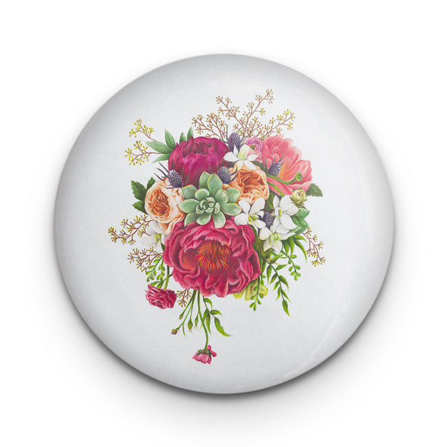 Floral Frenzy Badge