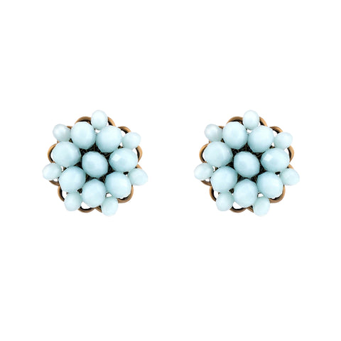 Bliss Studs - Rose Peach