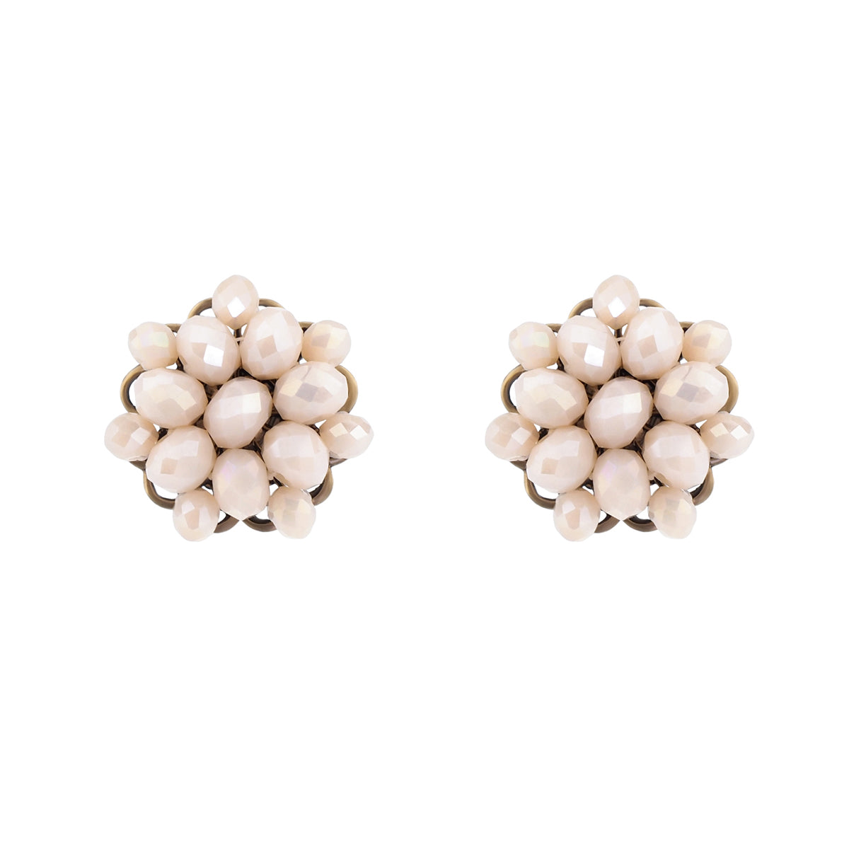 Forever True Studs - Pale Pink
