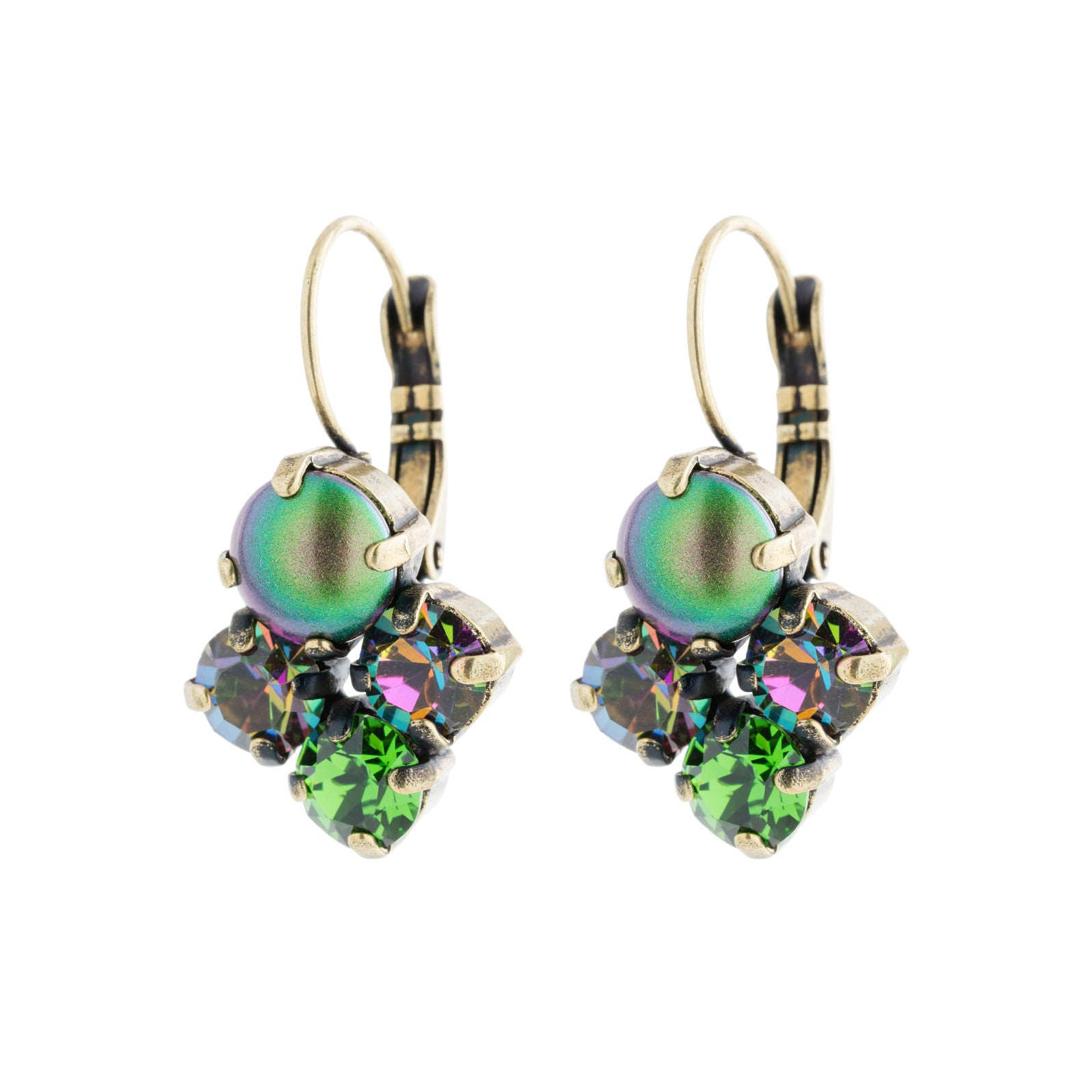 All My Love Earrings - Green