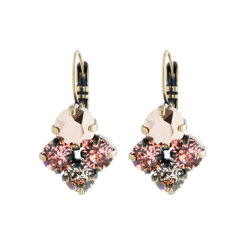 Devoted to You Earrings - Rose Peach