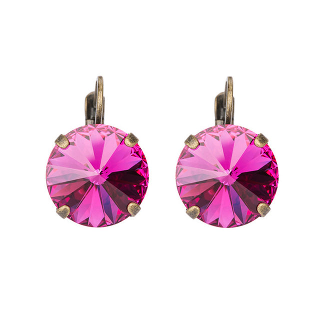 Bliss Earrings - Fuchsia