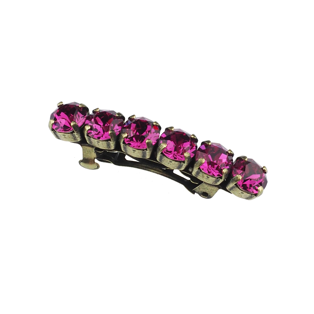 Hair Barrette - Fuschia