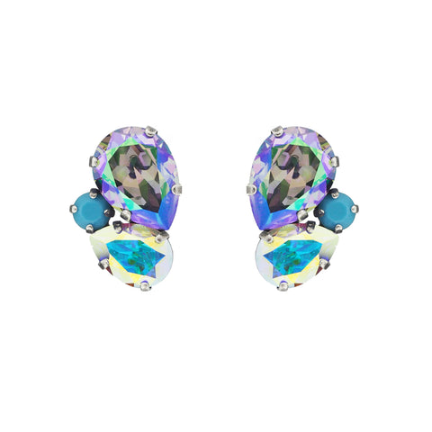 Blooming Beauty Earrings grand - Aqua