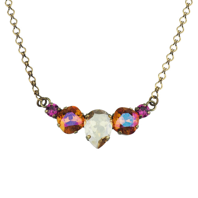 Hearts and Wishes Necklace - Astral Pink