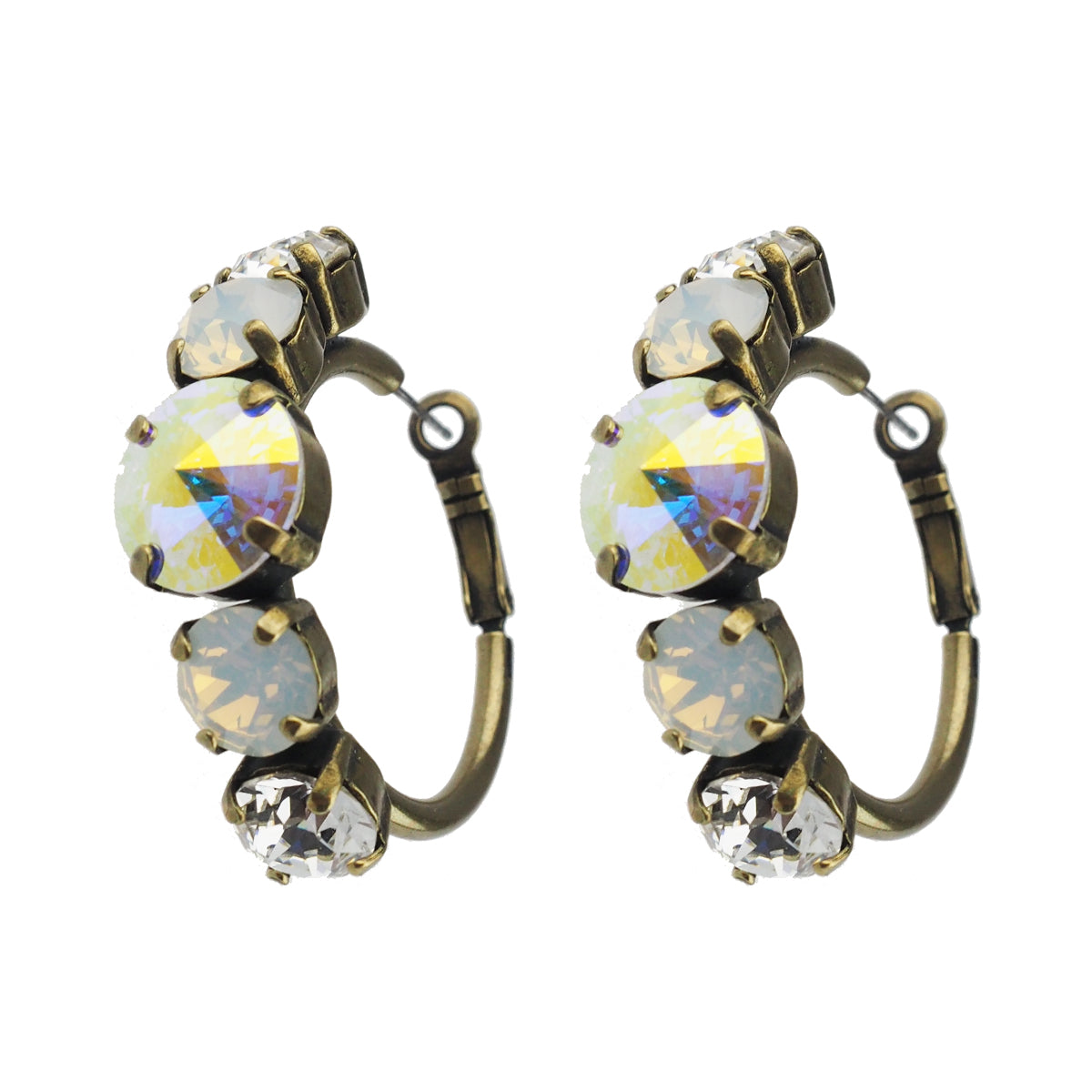 Head Over Heels Earrings - Crystal AB