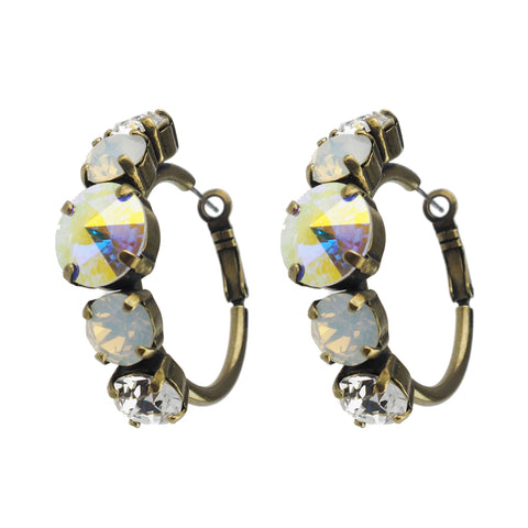 Bliss Studs small - Pacific Opal