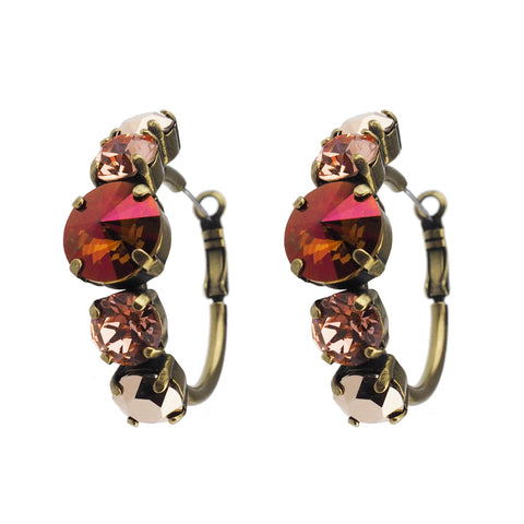 Guardian studs - Rose Peach