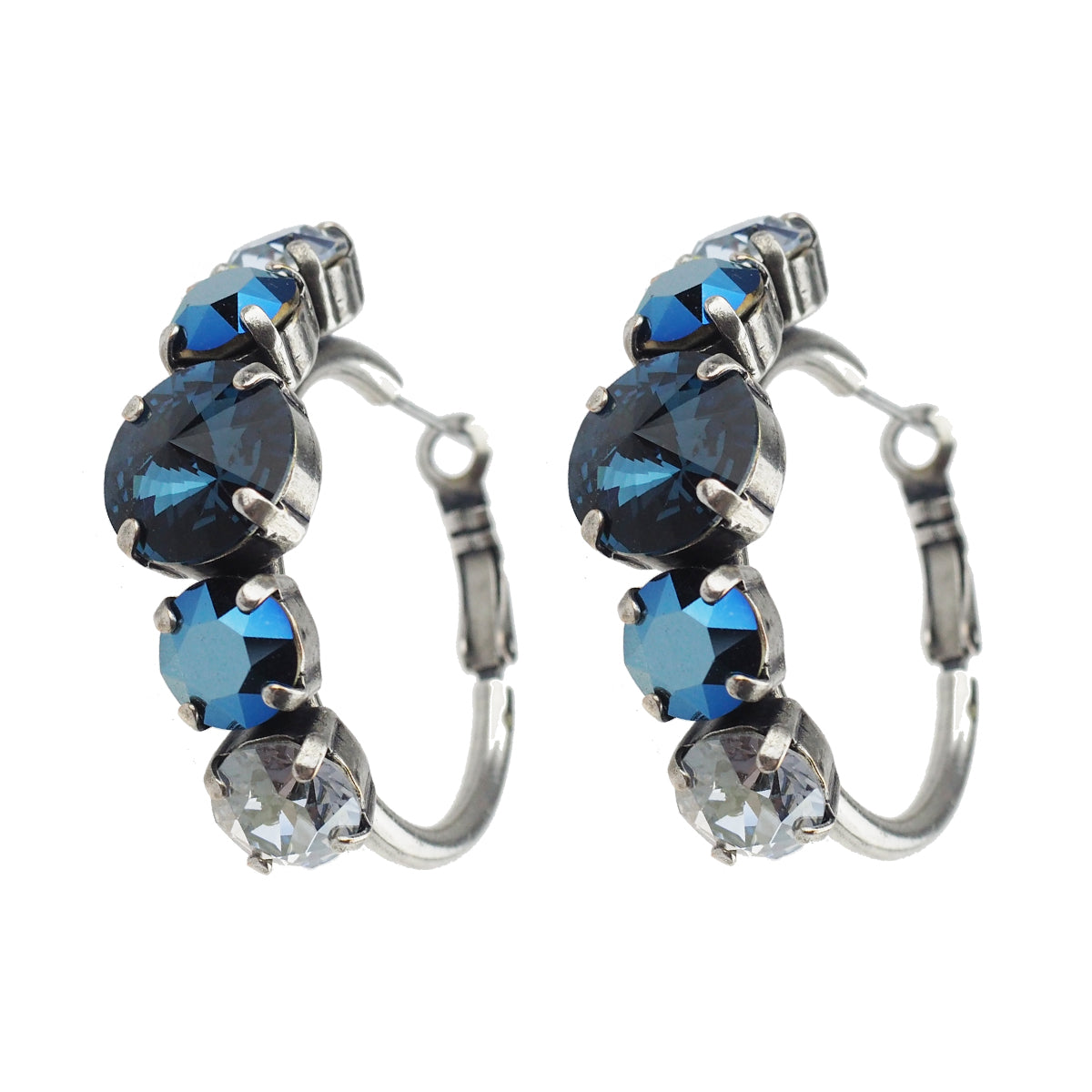 Head Over Heels Earrings - Blue