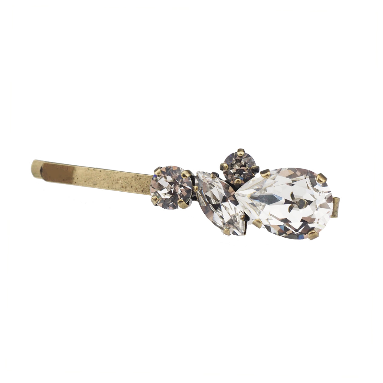 Justice Hair slide - Clear
