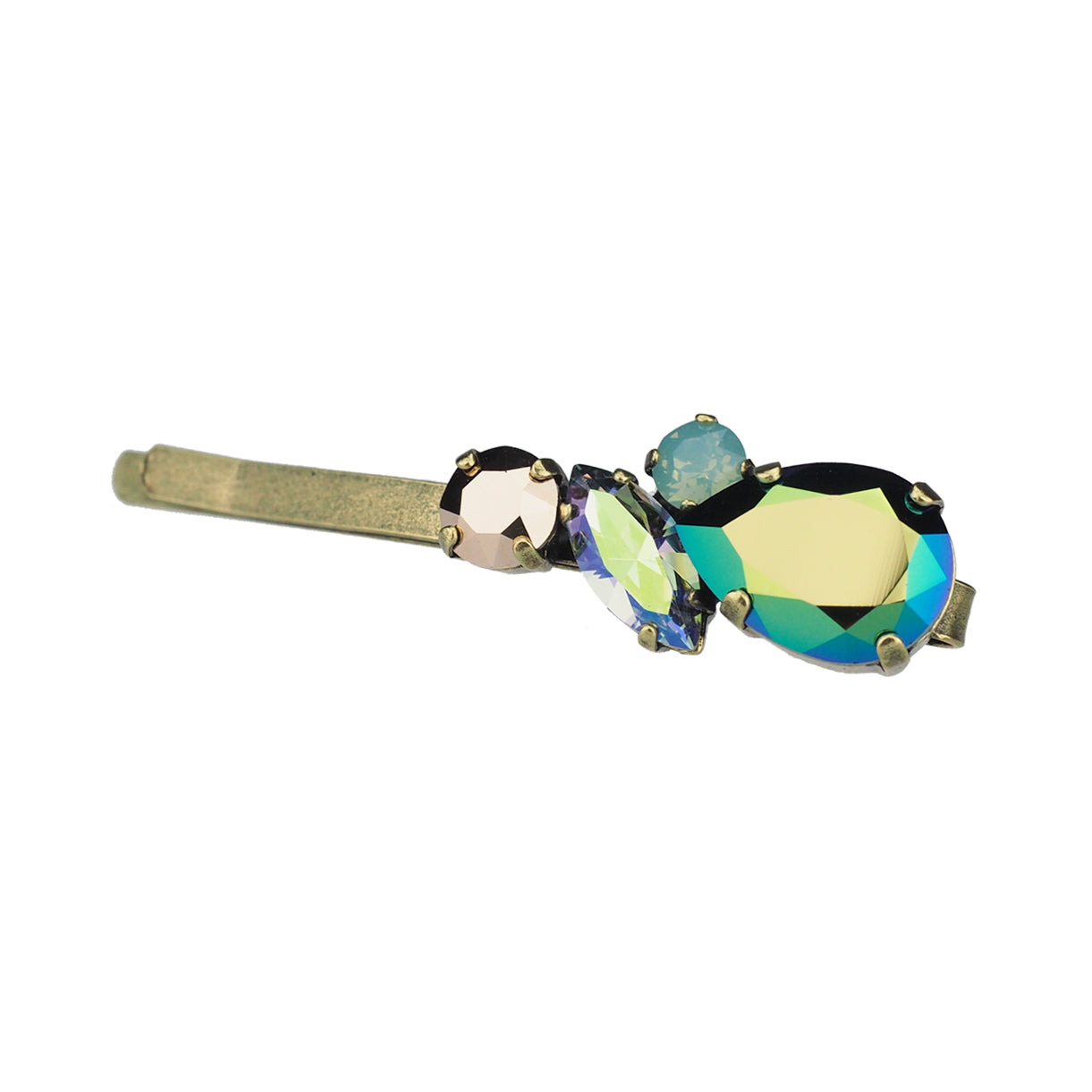 Justice Hair slide - Green