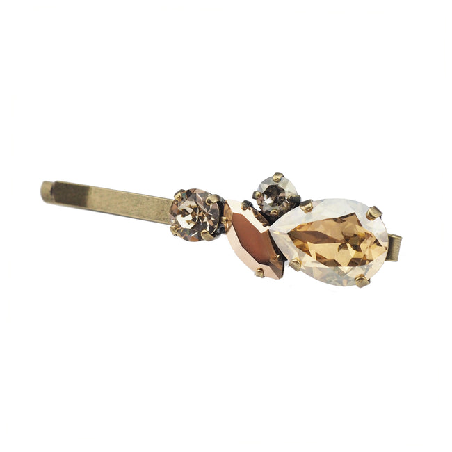 Justice Hair slide - Rose Gold