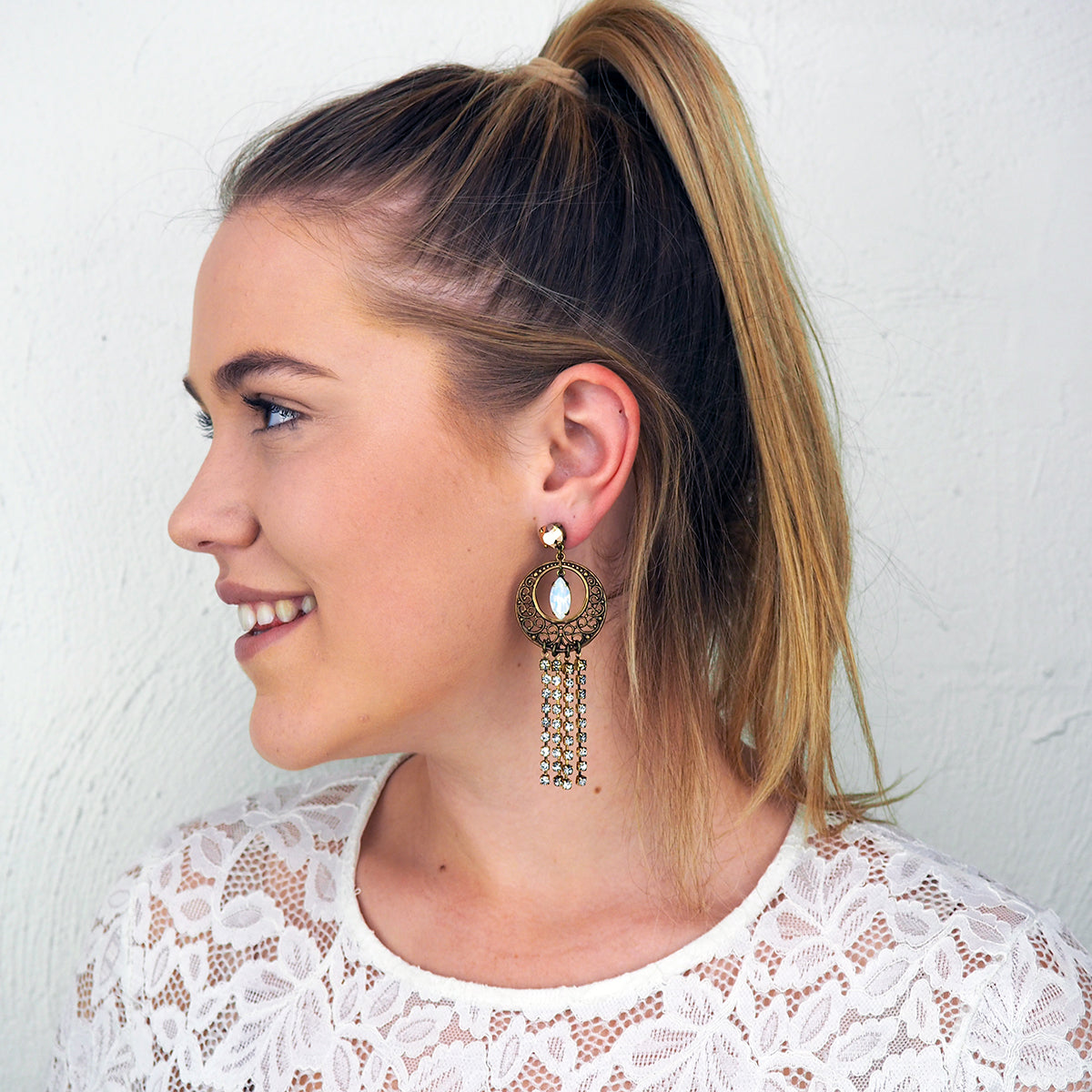 Lace and Love Earrings