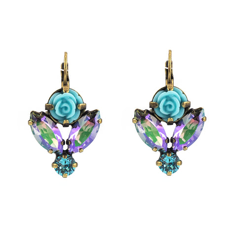Devoted to You Earrings - Amethyst