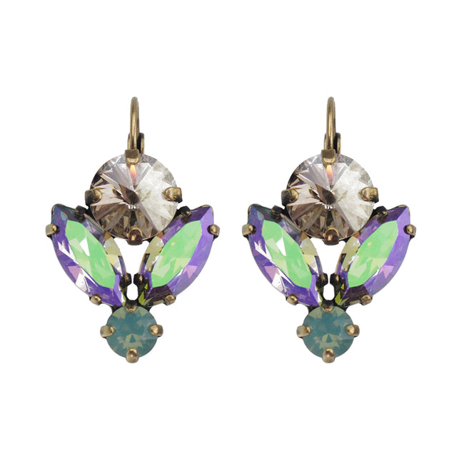 Lotus Earrings - Paradise Shine