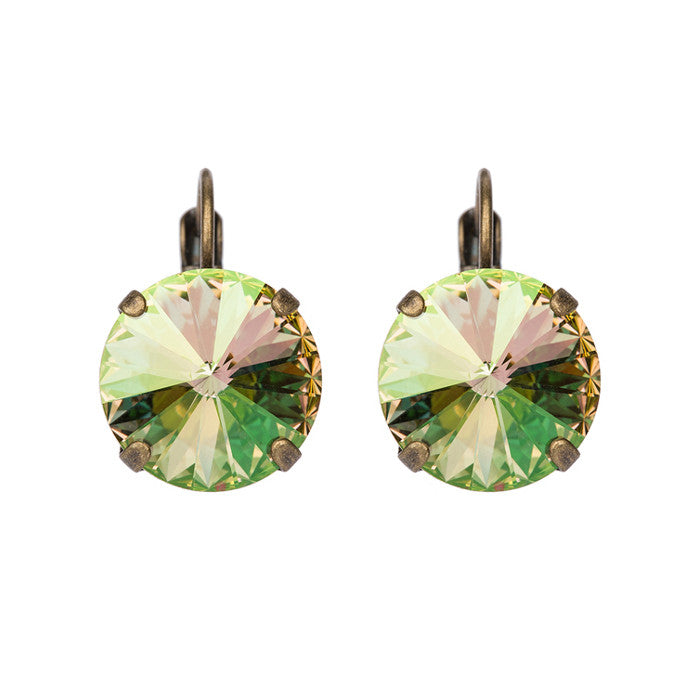 Bliss Earrings - Luminous Green
