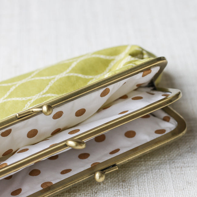 Twin Compartment Purse - Pistachio