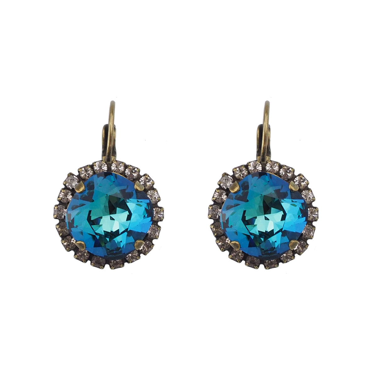 Radiance Earrings - Capri Blue