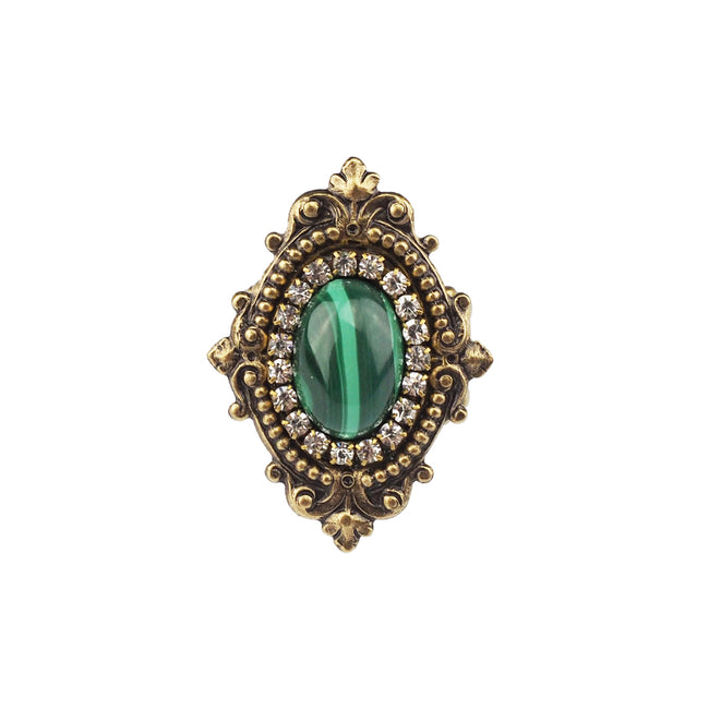 Reminiscence Ring - Malachite