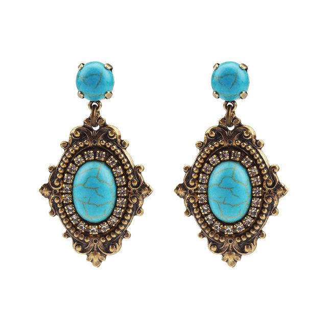 Reminiscence Earring - Turquoise