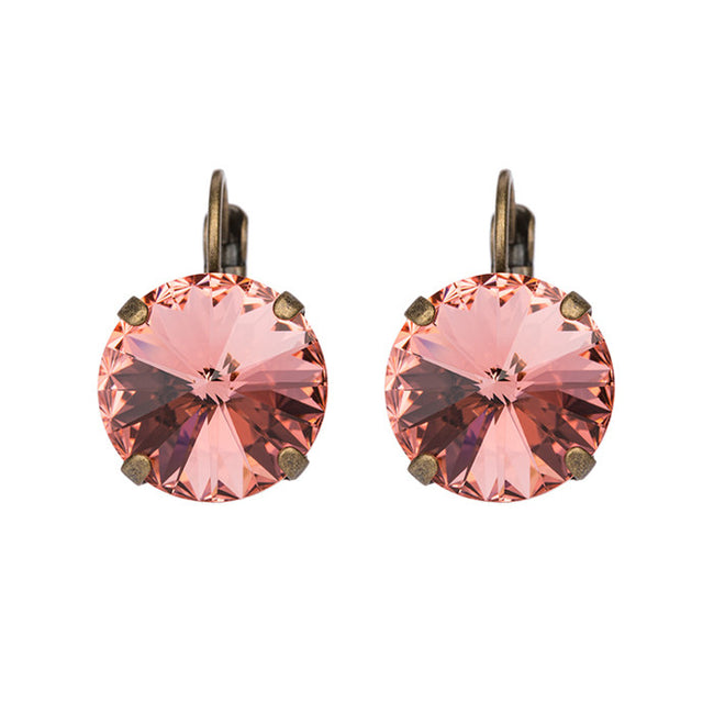Bliss Earrings - Rose Peach