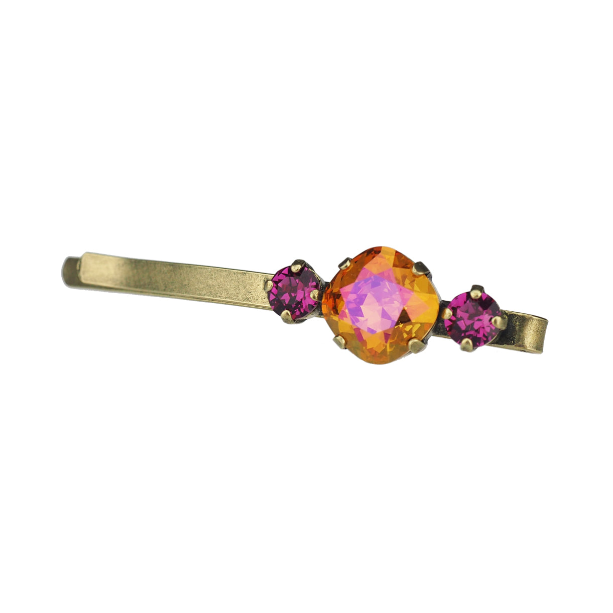 Solitaire Hair slide - Astral Pink