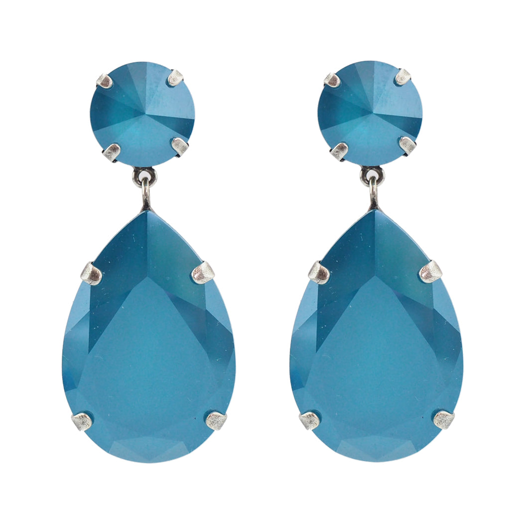 Starstruck Earrings - Azure Blue