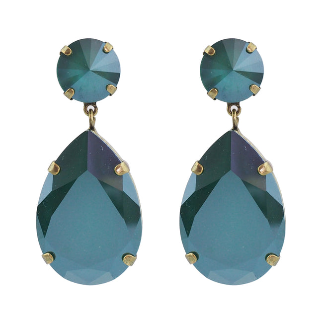 Starstruck Earrings - Royal Green
