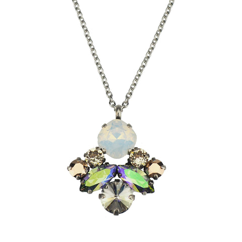 Blooming Beauty Pendant - Aqua