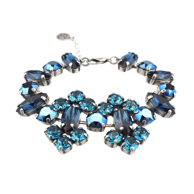 Surrender Bracelet - Metallic Blue