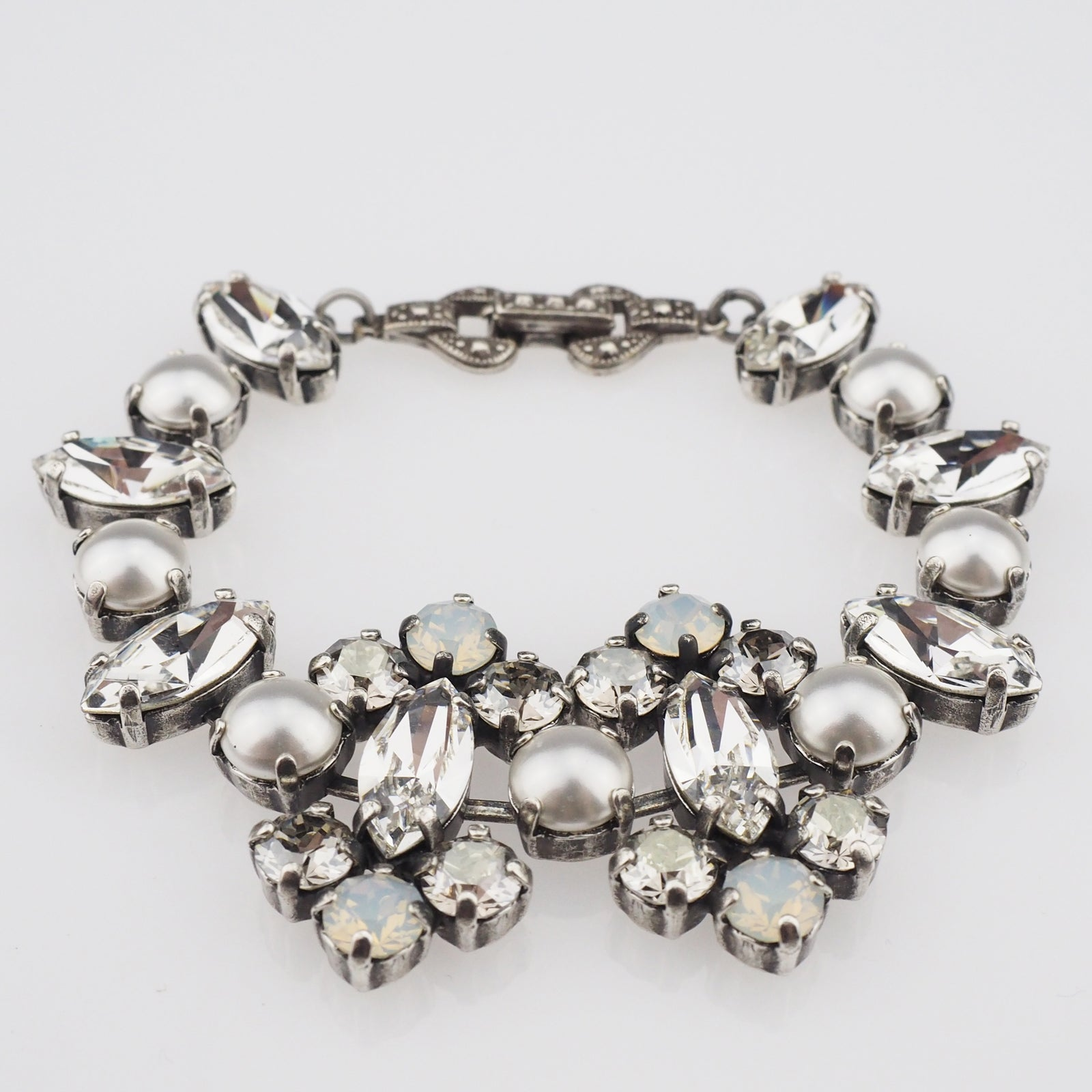 Surrender Bracelet - White Pearl