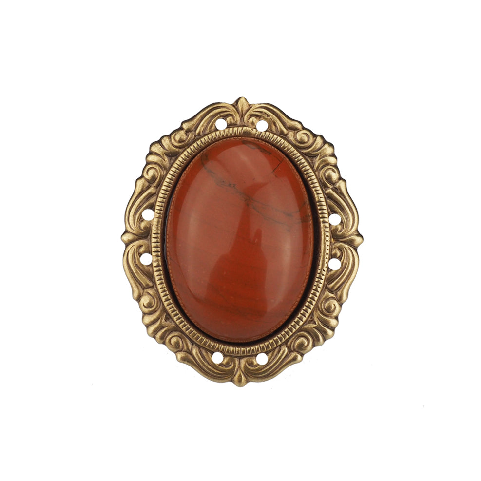Unchained Melody Ring - Red Jasper