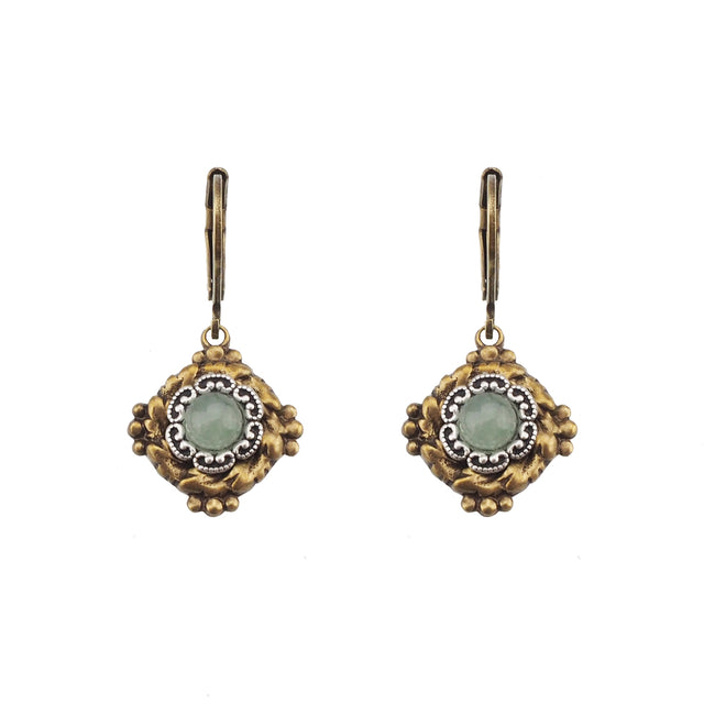Vintage Vibes Earrings - Aventurine
