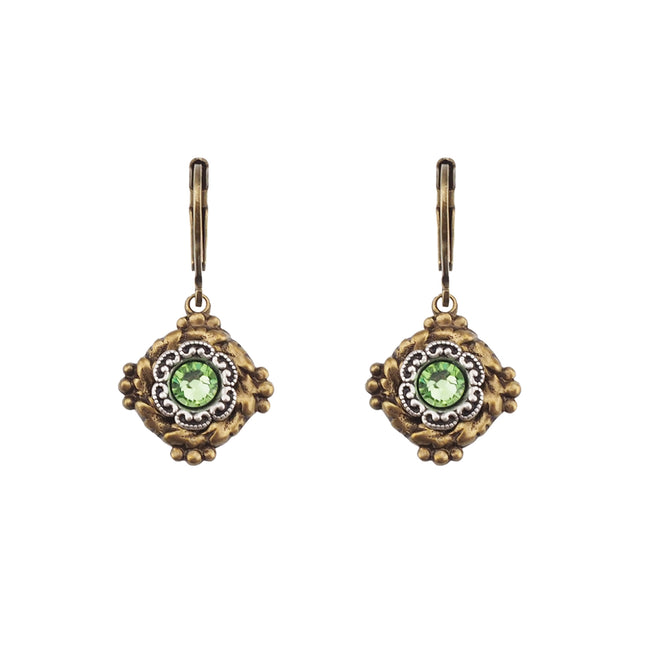 Vintage Vibes Earrings - Peridot