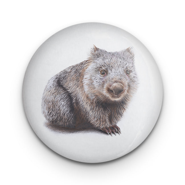 Wombat Badge