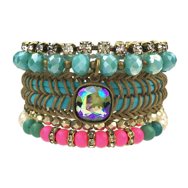 Summer Nights Bracelet Stack