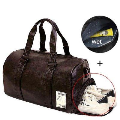 Gym Leather Bag