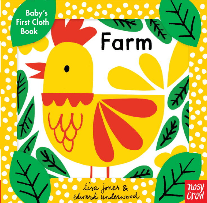 Baby's First Cloth Book: Farm