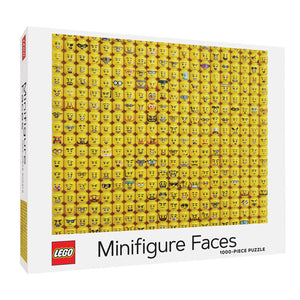 LEGO Minifigure Faces 1000 PC Puzzle