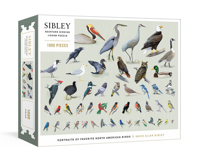 Sibley Backyard Birding 1000 PC Puzzle