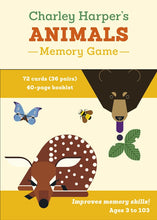 Load image into Gallery viewer, Charley Harper's Animals Memory Game