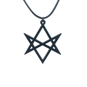 Hexagram choker