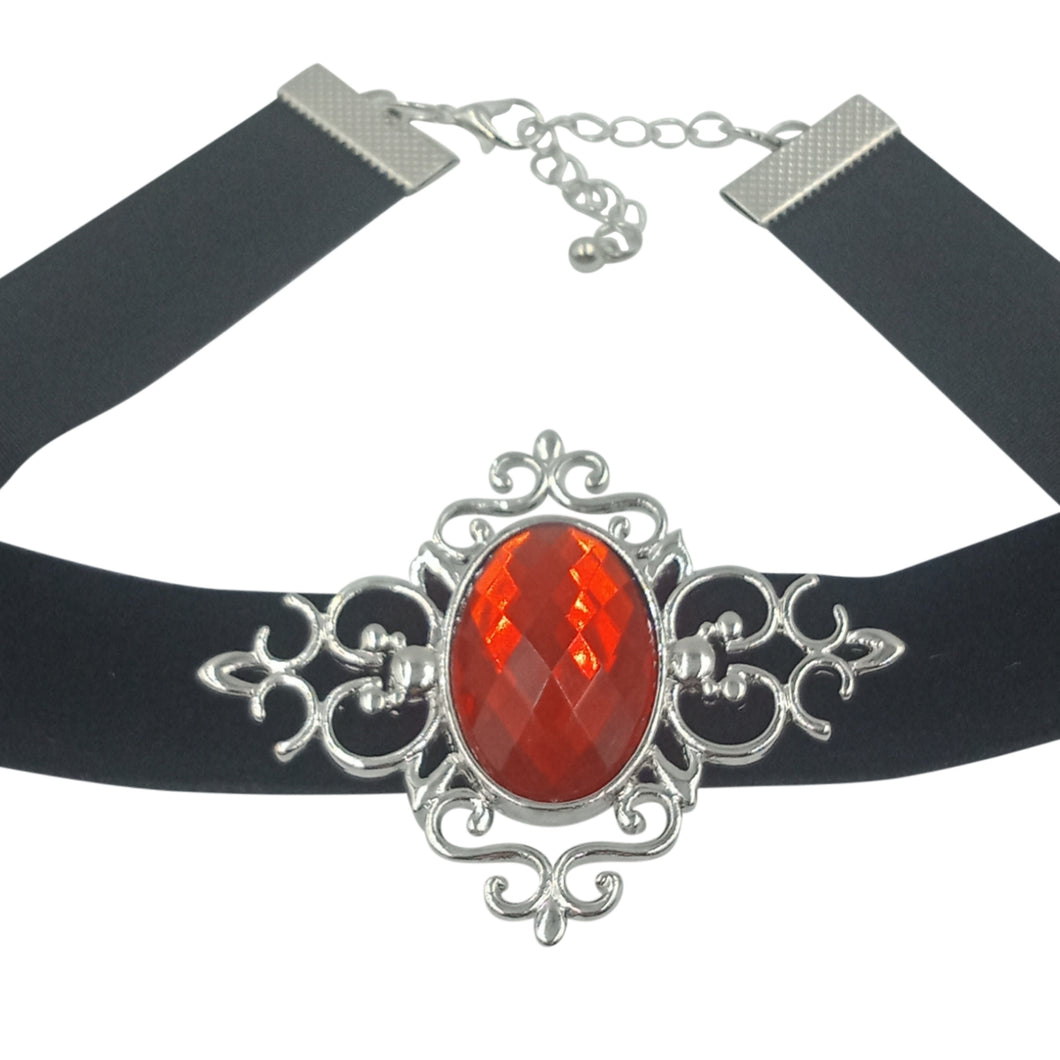 Blair choker in Red