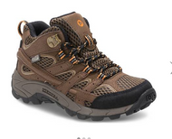 Merrell Kids Moab 2 Mid Waterproof